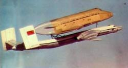 3 МТ Атлант с Бураном - перелет на Байконур