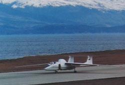 M-55 на взлетно-пасадочной полосе в Аргентине
