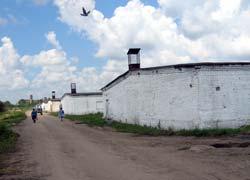 На территории птицефабрики