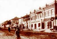 Большая Московская улица, ныне Свердлова, 1916 год