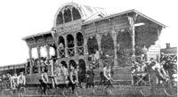 Ефремовский ипподром, фото начала 20 века