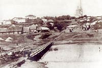 Стрелецкий мост, фото 1916 года